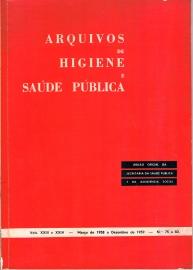 Capa Arquivos de Higiene e Sa�de P�blica, 75-82