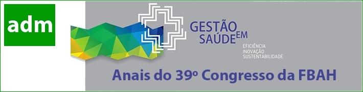 Revista IPH 13 - Anais do 39º Congresso de Administração Hospitalar